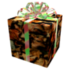 Opened Autumnal Gift of Christmas Creep