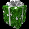Green Frozen Gift of the Master Developer