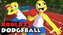Roblox Dodgeball Thumbnail