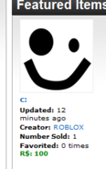Freaky Roblox Face