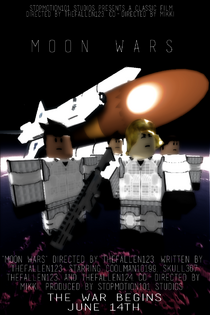 Moon Wars poster remasted