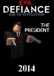 PresidentCharacterPoster