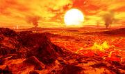 Kepler10b surface