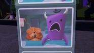 Monster embarrassed
