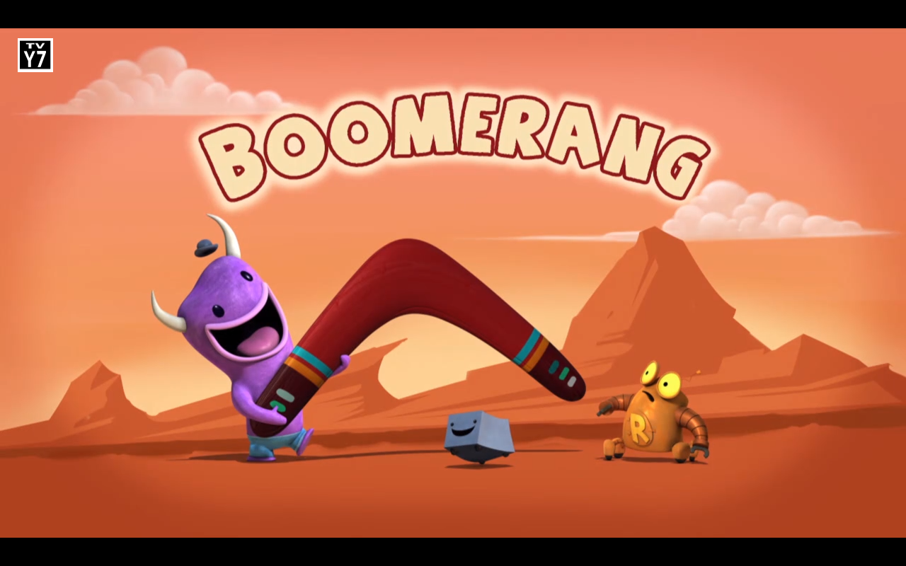 Boomerang Robot Amp Monster Wiki Fandom Powered By Wikia
