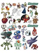 ( Character Designs by Mark Baskee and Jerome Dabos)