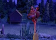 Scoobys head