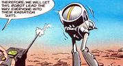Robotech the Graphic Novel Robby the Robot