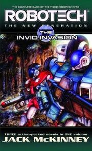 The Invid Invasion omnibus cover