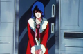 Minmei at door.png