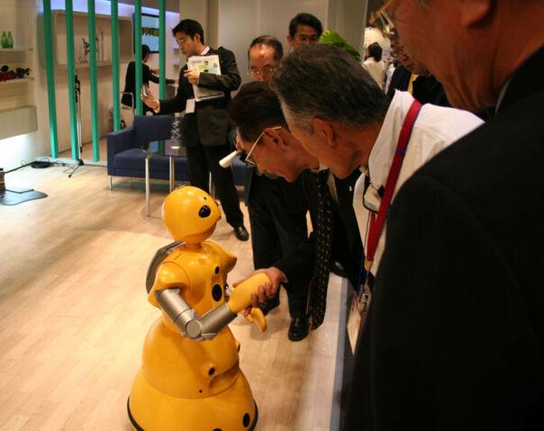 File:Wakamaru shaking hands.jpg