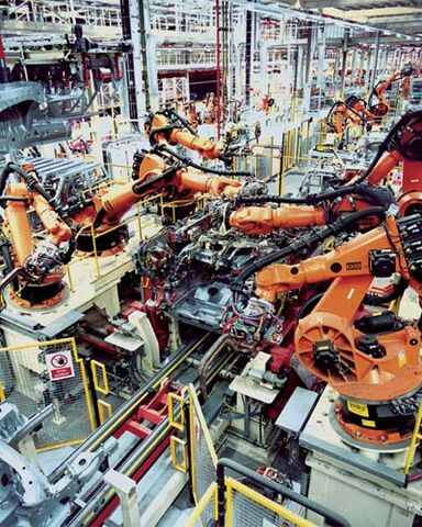 File:Industrial Robotics in car production.jpg