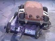 Tricerabot on top of Sobek.