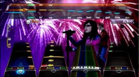 Get the Party Started - P!nk Expert All Instruments RB3 DLC