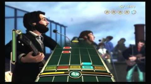 The Beatles Rock Band Dig A Pony- Sight Read (96% Gold Stars)