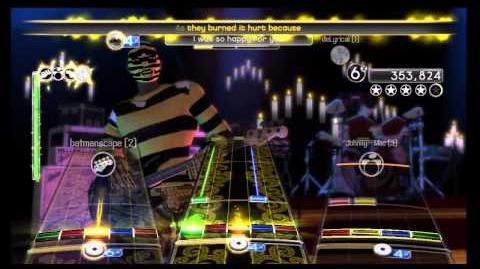 """Rock Band 2 - Full Band 100% - """"Still Alive"""" by GLaDOS"""