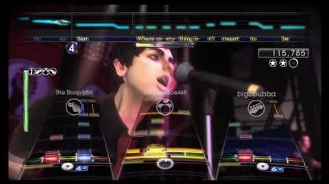 American Idiot Expert Full Band Green Day Rock Band