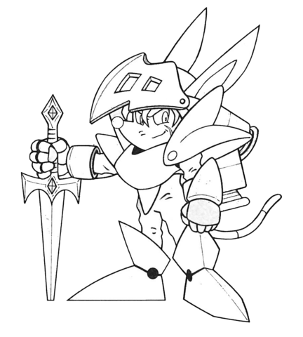 File:Axle Gear (Sparkster- Rocket Knight Adventures 2 Europe Manual Line Artwork).png