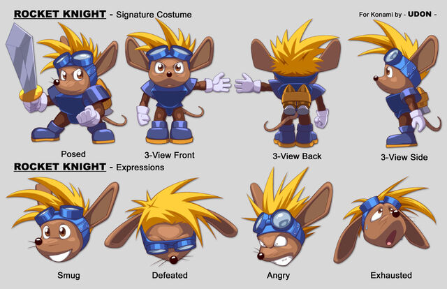 File:Sparkster in New International Track & Field Official Artwork Model Sheet by Udon.jpg