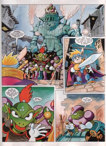 File:Sparkster Last of the Rocket Knights Page 2.jpg