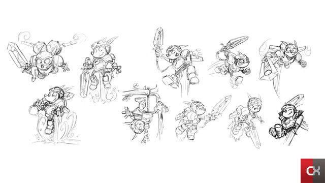 File:Rocket Knight (2010) Concept Artwork Sparkster.jpg
