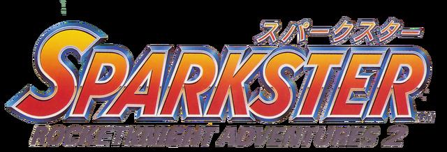 File:Sparkster Rocket Knight Adventures 2 Japanese Logo.png