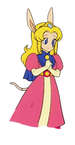 File:Princess Cherry (Sparkster- Rocket Knight Adventures 2 Offcial Artwork).png