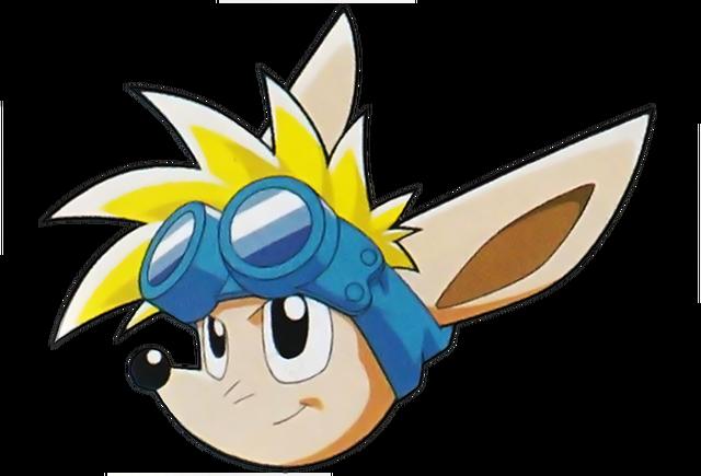 File:Sparkster (Sparkster- Rocket Knight Adventures 2 Sparkster Head Artwork).png