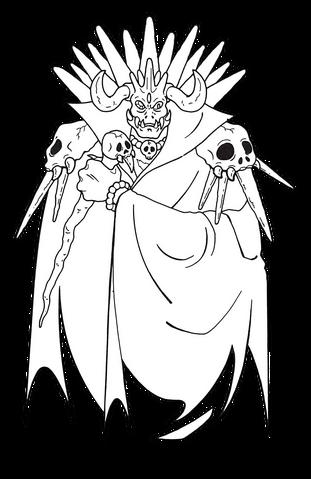 File:King Gedol (Sparkster- Rocket Knight Adventures 2 Europe Manual Line Artwork).png
