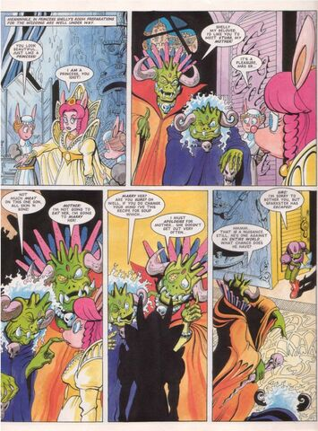 File:Sparkster Last of the Rocket Knights Page 14.jpg