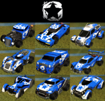 Stars decal common