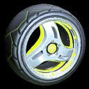 Triplex wheel icon lime