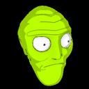 Cromulon topper icon lime