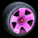 Fireplug wheel icon pink