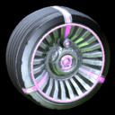Turbine wheel icon purple