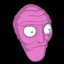 Cromulon topper icon pink
