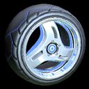Triplex wheel icon cobalt