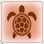 Sea turtle-trophy