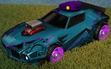 Unmasked decal purple rare