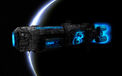 Ogame Space Ship Wallpaper by ToBiOh
