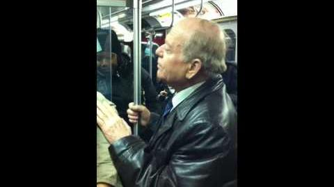 Old Guy Creeping a Girl on the TTC