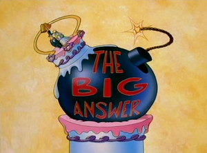 The Big Answer