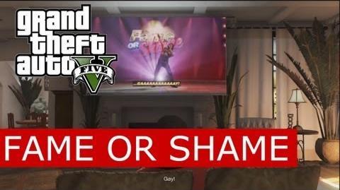 GTA V - Fame or Shame (America's Got Talent Parody) starring Lazlow-1