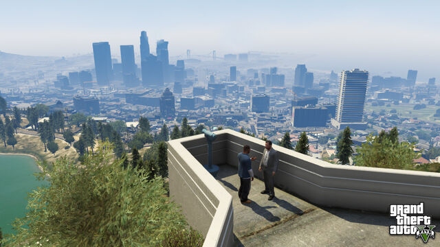 File:Michael and Franklin near Los Santos.jpg