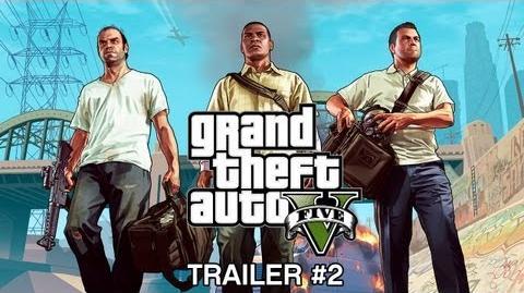 Grand Theft Auto V Official Trailer 2