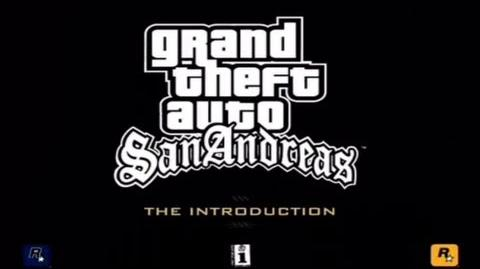 "GTA San Andreas ""The Introduction"" Official Trailer HD CC-0"