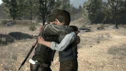 John&JackMarstonhugging