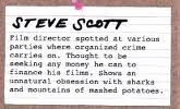 Steve scott crime card 1