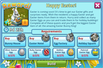 Easter Reward Info