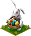 Easter Present Easter Bunny